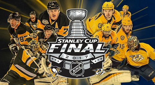 Nashville and Pittsburgh will play for the Stanley Cup