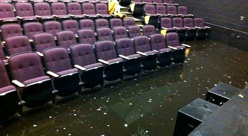 Lake Country's Creekside Theatre flooded