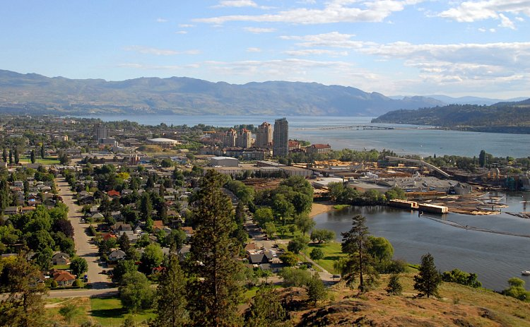 """The Hub of the Okanagan"""