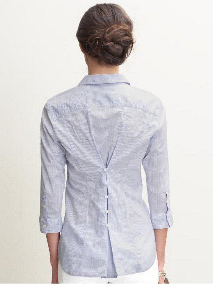 Лайкни на удачу!  Обсуждение женских секретов.  Идея как замаскировать большую по размеру рубашку.