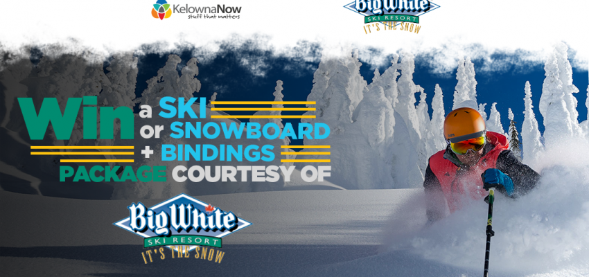 CONTEST ALERT! Win a snowboard or skis with bindings just in time for winter