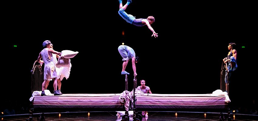 Cirque du Soleil's 5-day run at Prospera Place begins tomorrow